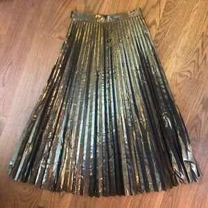 & Other Stories Accordion Pleated Skirt size 4